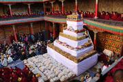西藏扎什伦布寺隆重庆祝班禅坐床20周年