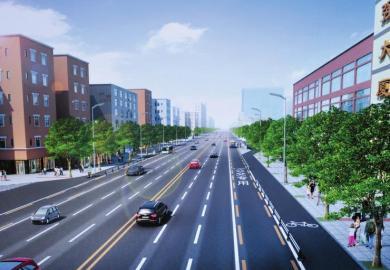 成都红星路改造 融入海绵城市设计 施工保证4车道 ...