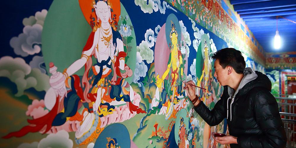 画师格桑克珠:跟唐卡独处的日子