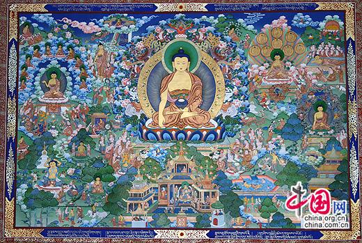Tibet to regulate Thangka market