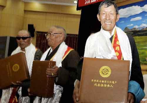 Tibet to record skills of senior intangible culture inheritors