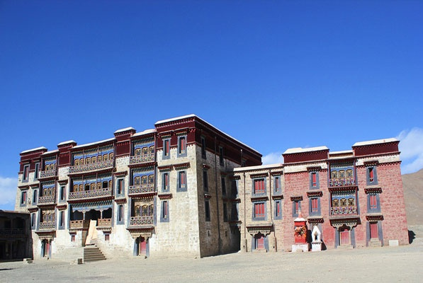 Lhagyari Palace in Tibet