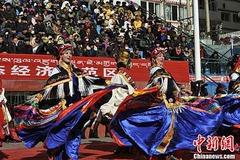 Aba people in Sichuan Tibetan-inhabited area celebrates Losar
