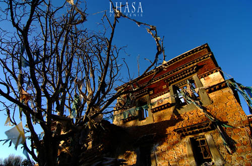 Another area of Lhasa's Old Town to be repaired in original style