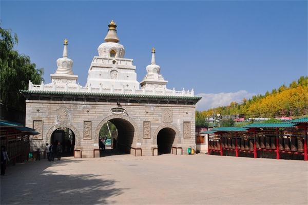 Ta'er Monastery in Qinghai Province