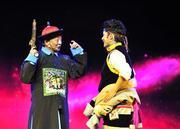 西藏大型爱国主义历史题材话剧《共同家园》亮相拉萨