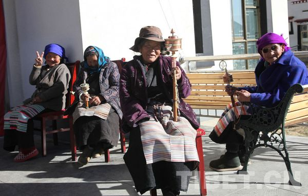 Photo story of Lhasa charity house
