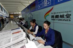 New domestic flight serves Tibet