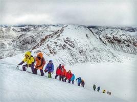 第十四届西藏登山大会闭幕