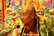 著名学者、藏传佛教大德多识仁波切金秋北京开讲