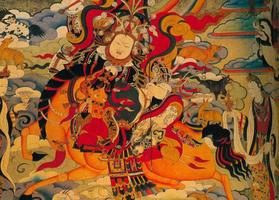 西藏工艺美术大师作品《格萨尔王》入藏国家博物馆