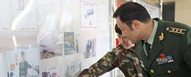 日喀则边防支队举办书画摄影展