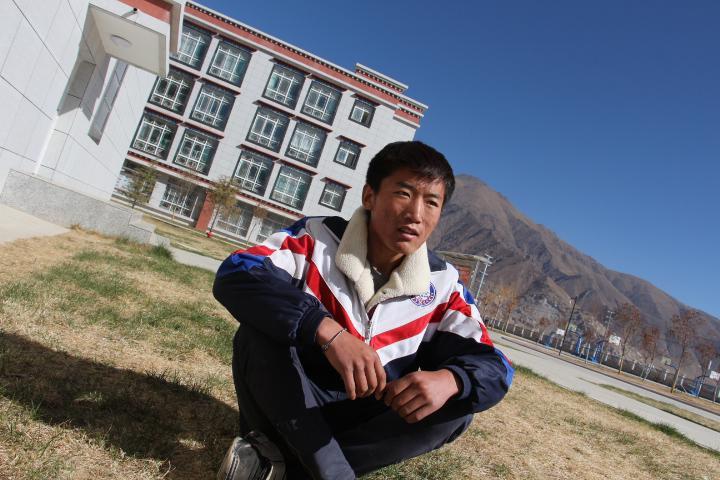Der Literaturtraum eines tibetischen Kindes