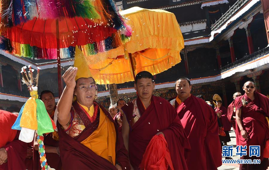 Panchen Lama leaves for Beijing, ending research tour in Tibet