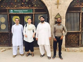 苏州大学研究生巴基斯坦筹建中国美学馆