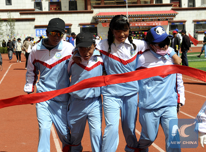 School sheds light on Tibet's special needs children