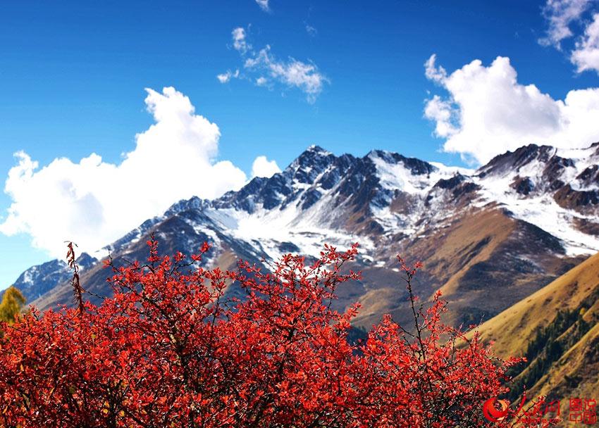 Miyaluo scenic spot in autumn