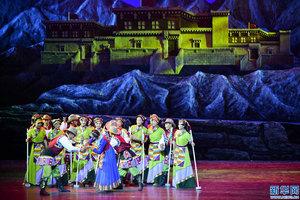 民族舞剧《太阳的女儿》剧组全力备战第十一届中国艺术节展演