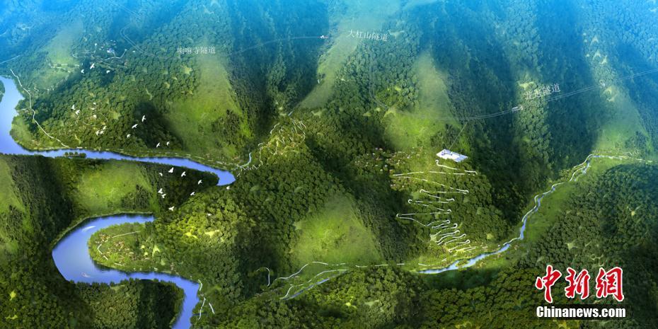走进雅康高速工地感受一条高大上的景观大道