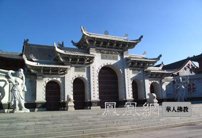 Seven essential buildings of Chinese Buddhism