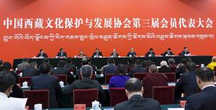 中国西藏文化保护与发展协会第三届会员代表大会召开