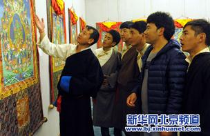 唐卡画师夏鲁旺堆:愿更多人了解唐卡 传承其精神意义