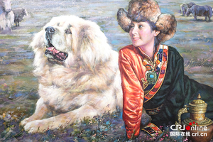 """""""东方神犬""""—藏族人的保护神"""