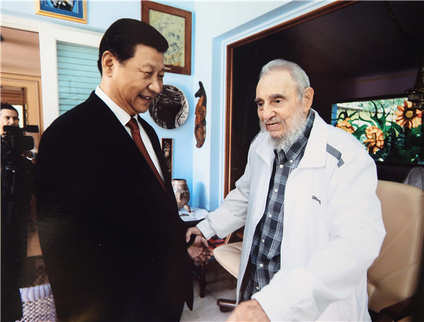 Chinese leaders & citizens mourning loss of Cuban leader