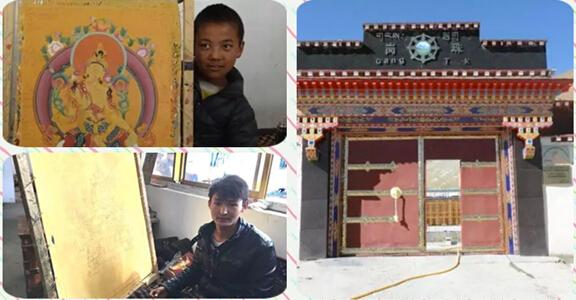 Ein tibetischer Lehrer gibt gehandikapten Schülern eine Chance