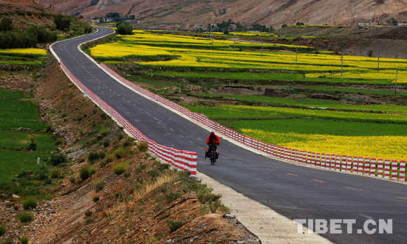 The most beautiful scenic route to Tibet