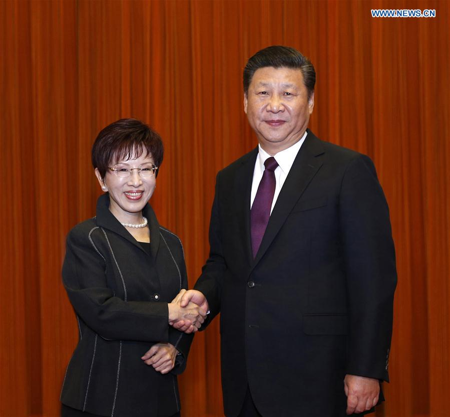 Xi proposes talks to end cross-Strait hostility
