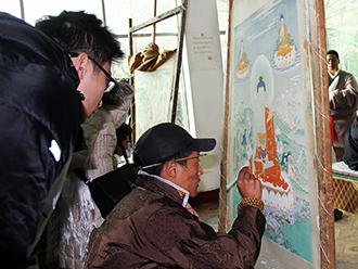 明升m88.com明升体育88保护与发展协会海外理事进藏考察