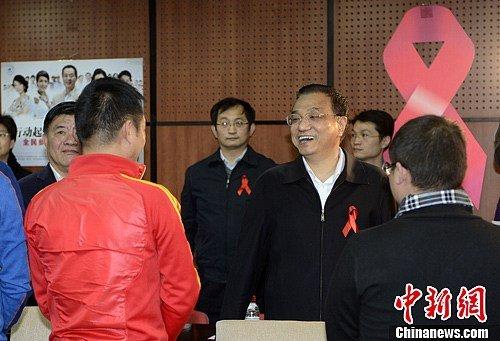 Premier Li orders AIDS battle to maintain low prevalence
