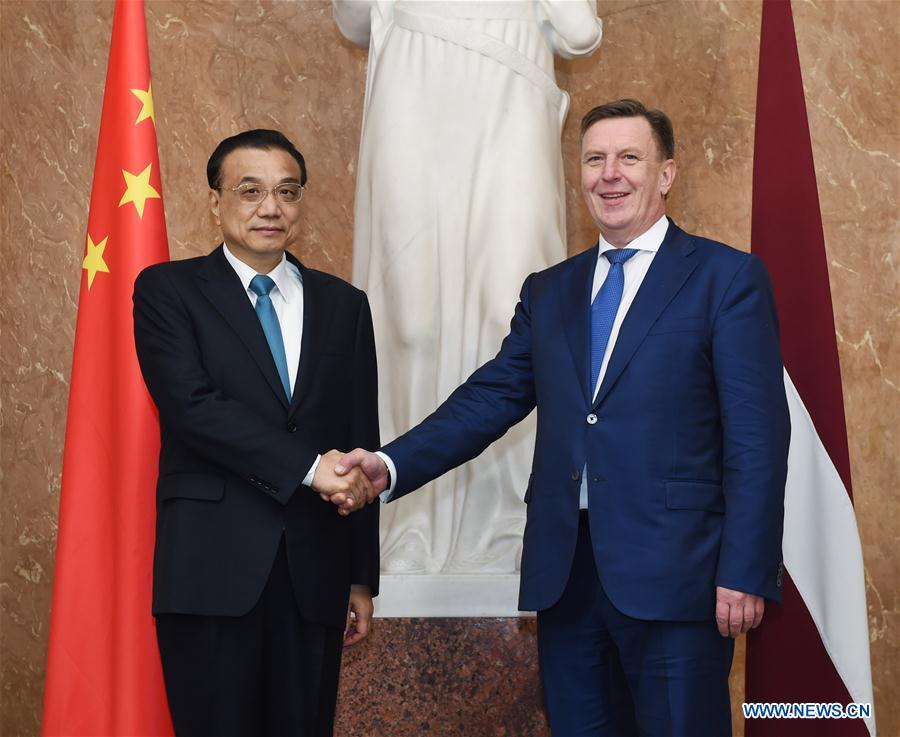 China pledges to deepen all-round pragmatic cooperation with Latvia