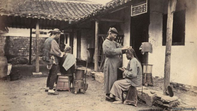 Ausländischer Fotograf dokumentiert das Leben in Shanghai während der Qing-Dynastie