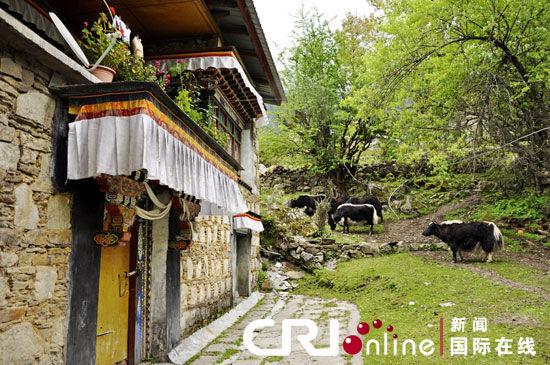 Tibetans open their doors to tourists