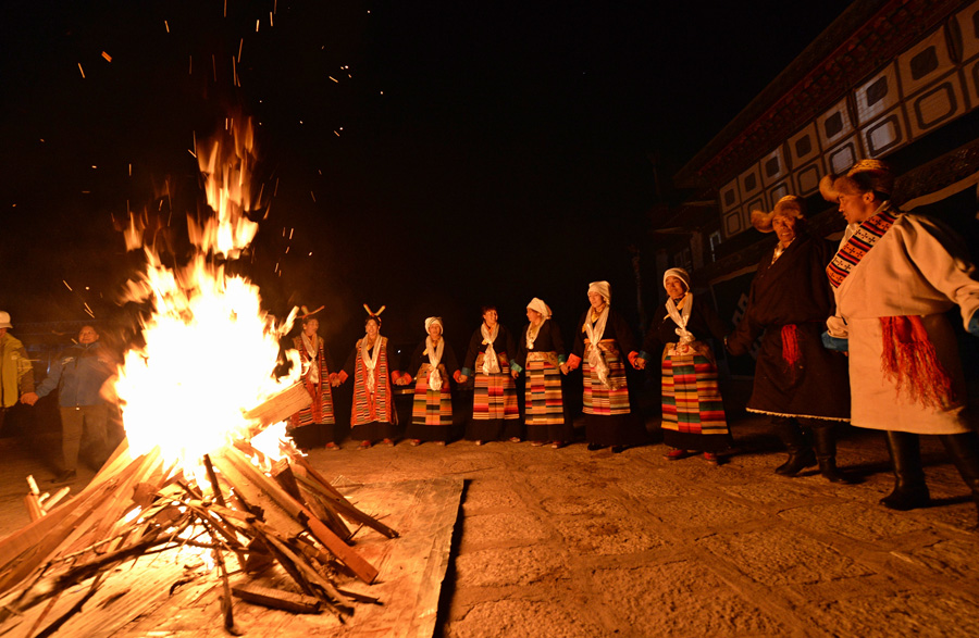 In-depth experience Tibetan culture in winter