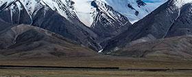 青藏铁路沿线风光