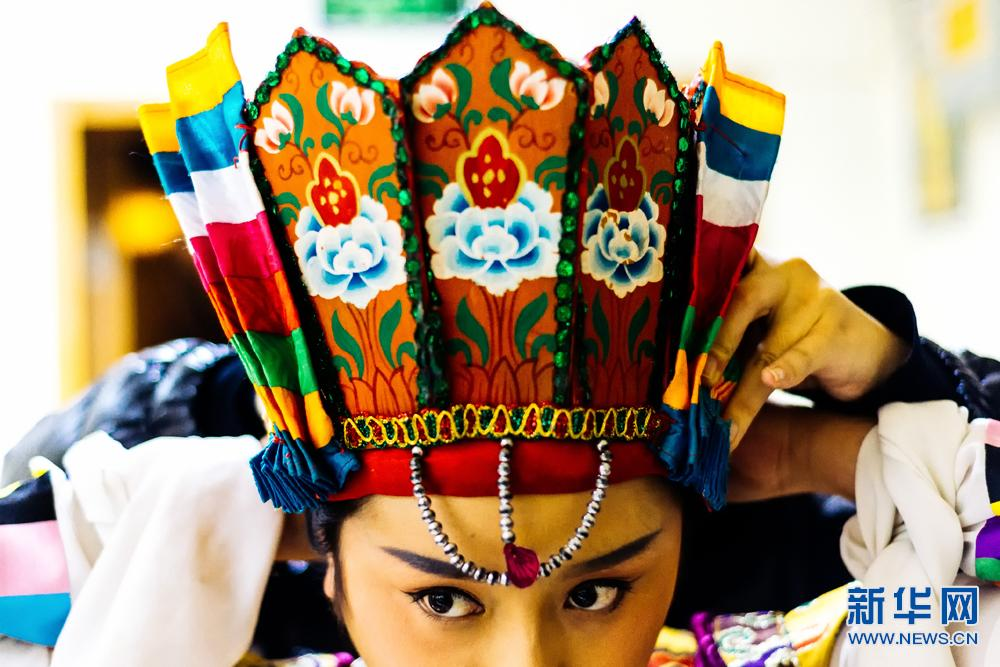 Turandot performed in the form of Tibetan opera