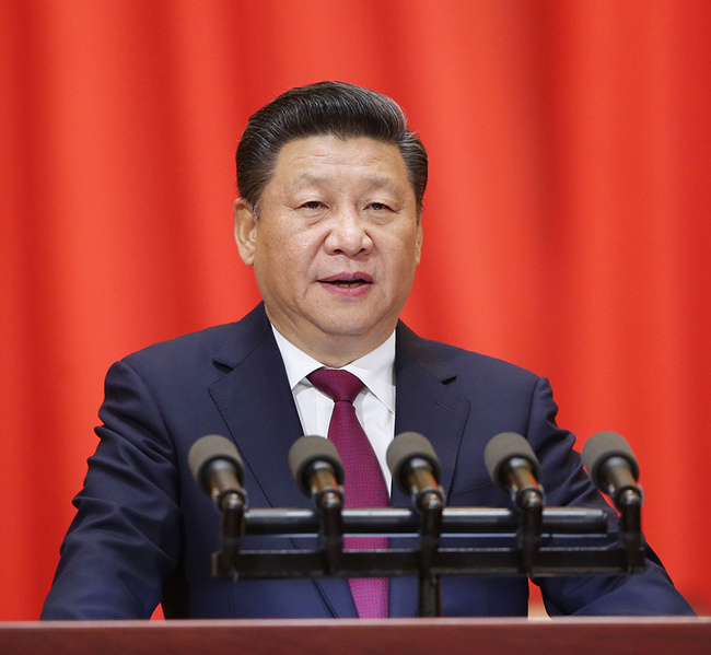 Xi says people first in seeking economic growth
