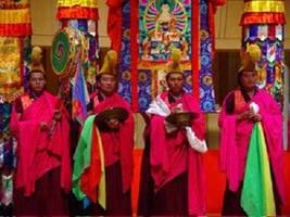 Ein Mönchs-Orchester auf den Steppen
