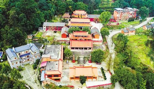 Alter Bayue-Tempel