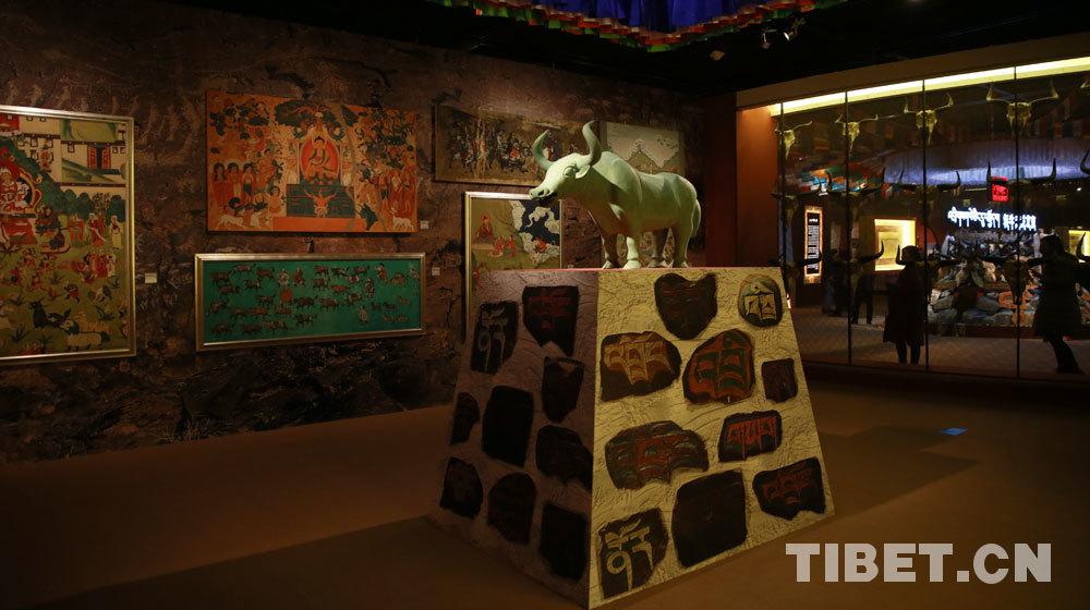 青铜牦牛复制件