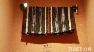 牦牛毛编织的口袋