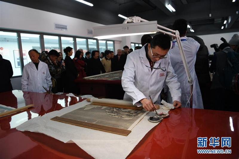 Restaurierungswerkstatt im Palastmuseum eröffnet