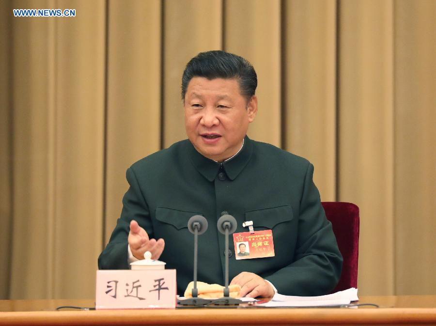 Xi calls for smaller but more capable army