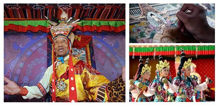 """入选世界级""""非遗""""的藏族文化艺术有哪些?"""