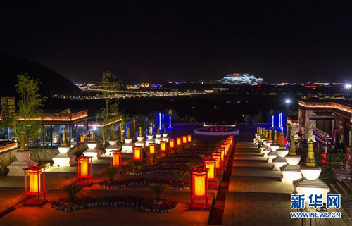 慈觉林藏院风情街冬季旅游主题活动启动