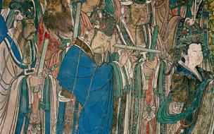 元代永乐宫壁画存世近700年依旧色彩斑斓