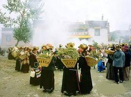 """""""娘古拉苏""""节的传说"""